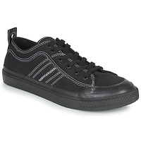 Zapatos Hombre Zapatillas bajas Diesel S-ASTICO LOW Negro / Blanco