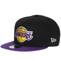 Accesorios textil Gorra New-Era NBA 9FIFTY LOS ANGELES LAKERS Negro / Violeta