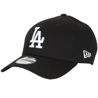 Accesorios textil Gorra New-Era LEAGUE ESSENTIAL 9FORTY LOS ANGELES DODGERS Negro / Blanco