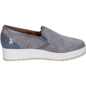 Zapatos Mujer Slip on Carmens Padova slip on gamuza gris