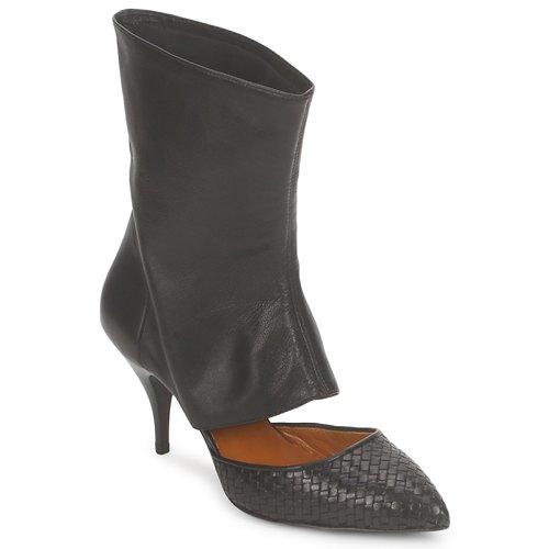 Los zapatos más populares para hombres y mujeres Zapatos especiales Stéphane Kelian IVAN Negro