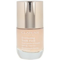 Belleza Mujer Base de maquillaje Clarins Everlasting Youth Fluid 107-beige  30 ml