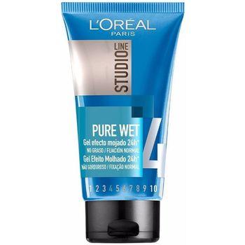 Belleza Acondicionador L'oréal Studio Line Pure Wet Gel Efecto Mojado  150 ml