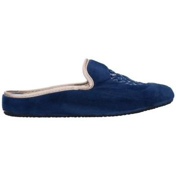 Zapatos Mujer Pantuflas Norteñas 7-35-25 Mujer Azul marino bleu