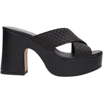 Zapatos Mujer Zuecos (Mules) David Haron 02 INR F18S Multicolore