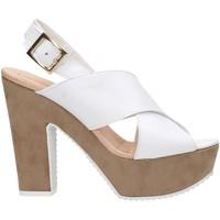 Zapatos Mujer Sandalias David Haron P09TC Multicolore