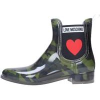 Zapatos Mujer Botas de agua Love Moschino JA21013G06 Multicolore