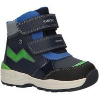 Zapatos Niño Botas de nieve Geox B841GC 054FU B N GULP Azul