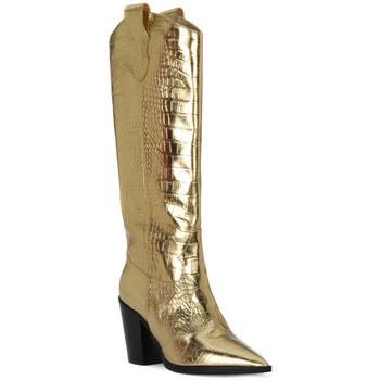 Zapatos Mujer Botas urbanas Priv Lab COCCO ORO Beige