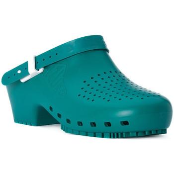 Zapatos Zuecos (Clogs) Calzuro S VERDE CINTURINO Verde