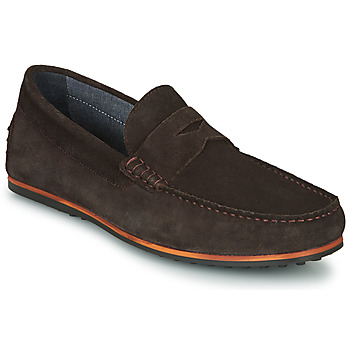 Zapatos Hombre Mocasín André SKY Marrón
