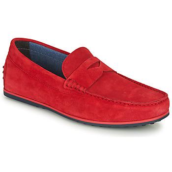 Zapatos Hombre Mocasín André SKY Rojo