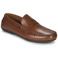 Zapatos Hombre Mocasín André SLOTI Cognac