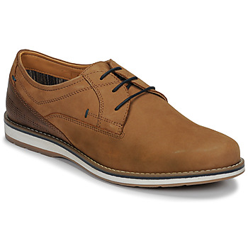 Zapatos Hombre Derbie André LINOS Cognac