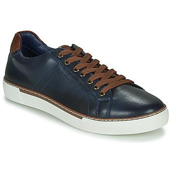 Zapatos Hombre Zapatillas bajas André SHANN Marino
