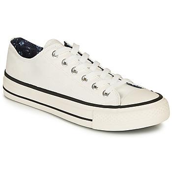 Zapatos Hombre Tenis André VOILURE Blanco