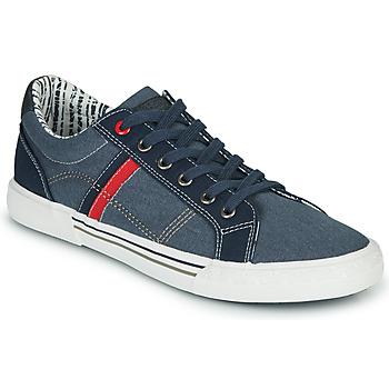 Zapatos Hombre Tenis André SUNWAKE Marino