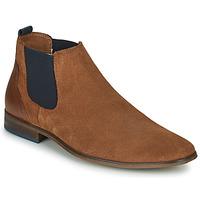 Zapatos Hombre Derbie André WALOU Cognac