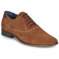 Zapatos Hombre Richelieu André WALACE Cognac