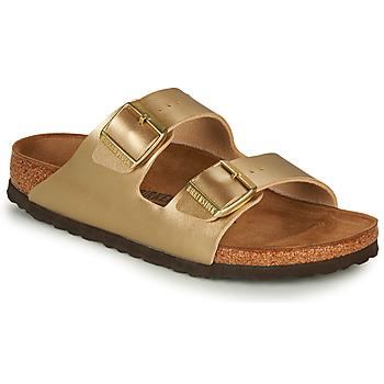 Zapatos Mujer Zuecos (Mules) Birkenstock ARIZONA Oro
