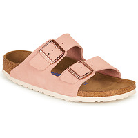 Zapatos Mujer Zuecos (Mules) Birkenstock ARIZONA SFB LEATHER Rosa