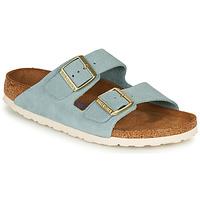Zapatos Mujer Zuecos (Mules) Birkenstock ARIZONA SFB LEATHER Azul