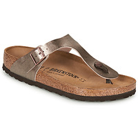 Zapatos Mujer Chanclas Birkenstock GIZEH Bronce