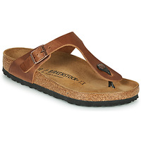 Zapatos Mujer Chanclas Birkenstock GIZEH Antique / Brown