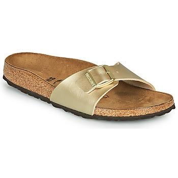 Zapatos Mujer Zuecos (Mules) Birkenstock MADRID Oro