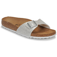 Zapatos Mujer Zuecos (Mules) Birkenstock MADRID Cosmic / Sparkle / Blanco