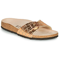 Zapatos Mujer Zuecos (Mules) Birkenstock MADRID Gold