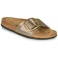 Zapatos Mujer Zuecos (Mules) Birkenstock MADRID BIG BUCKLE Topotea / Bronce