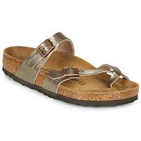 Zapatos Mujer Zuecos (Mules) Birkenstock MAYARI Bronce