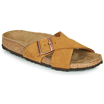 Zapatos Mujer Zuecos (Mules) Birkenstock SIENA LEATHER Camel