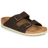 Zapatos Hombre Zuecos (Mules) Birkenstock ARIZONA LEATHER Marrón