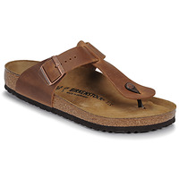 Zapatos Hombre Chanclas Birkenstock MEDINA LEATHER Antique / Brown
