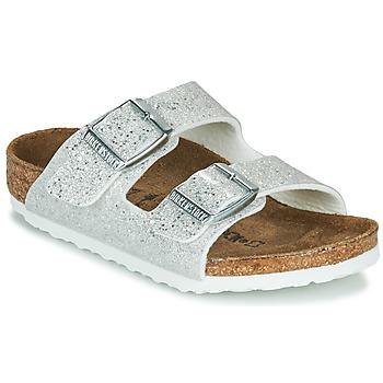 Zapatos Niña Zuecos (Mules) Birkenstock ARIZONA Cosmic / Sparkle / Blanco