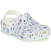Zapatos Mujer Zuecos (Clogs) Crocs LIBERTY LONDON X CLASSIC LIBERTY GRAPHIC CLOG K Blanco