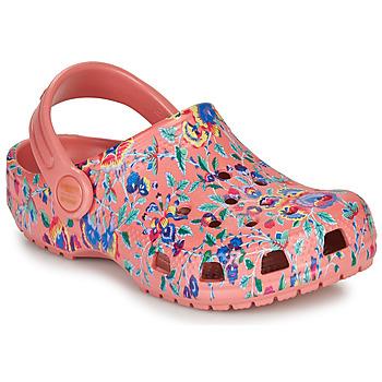 Zapatos Mujer Zuecos (Clogs) Crocs LIBERTY LONDON X CLASSIC LIBERTY GRAPHIC CLOG K Rosa