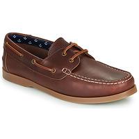 Zapatos Hombre Zapatos náuticos André NAUTING Marrón