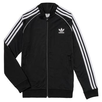textil Niños chaquetas de deporte adidas Originals LYAM Negro