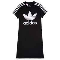textil Niña Vestidos cortos adidas Originals SALOME Negro