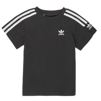 textil Niño camisetas manga corta adidas Originals MINACHE Negro