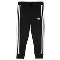 textil Niños Pantalones de chándal adidas Originals LOOAI Negro