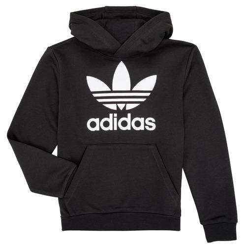 textil Niños Sudaderas adidas Originals ZACK Negro