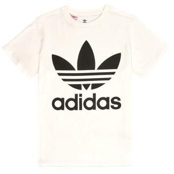 textil Niños camisetas manga corta adidas Originals SARAH Blanco