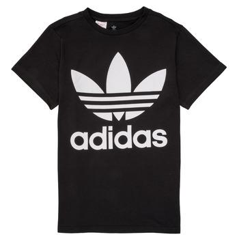 textil Niños camisetas manga corta adidas Originals MAXENCE Negro