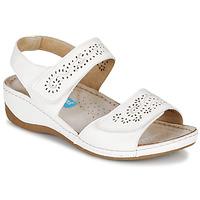 Zapatos Mujer Sandalias Damart MILANA Blanco