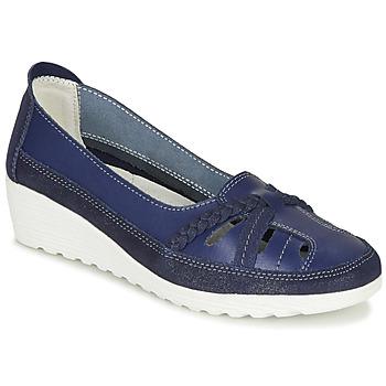 Zapatos Mujer Bailarinas-manoletinas Damart MILANI Marino