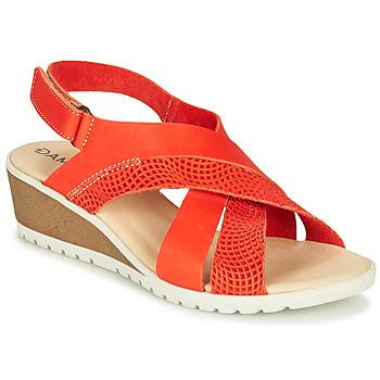 Zapatos Mujer Sandalias Damart MAYLO Acru / dorado